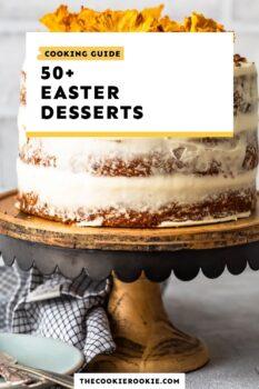 easter desserts guide