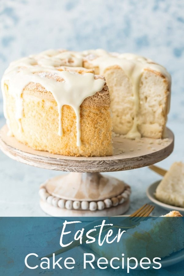 cake with text overlay: easter cake recipes