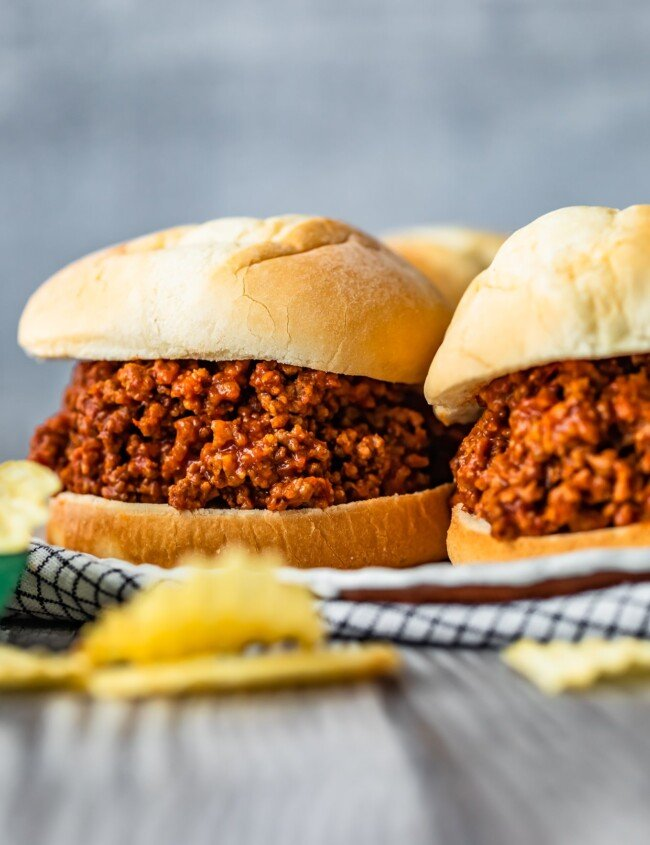 Homemade Sloppy Joes are the perfect thing to make for easy dinners this summer. Make the best sloppy joe sauce, add beef, and voila! Learn how to make sloppy joes from scratch and enjoy these messy sandwiches any night of the week. Yum!