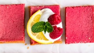 Lemon Raspberry Bars Recipe