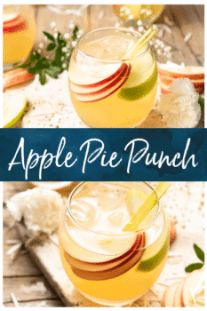 apple pie punch collage - pinterest image
