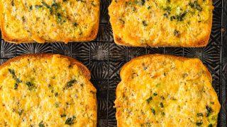 Easy Cheesy Garlic Bread Recipe (Texas Toast Garlic Bread)