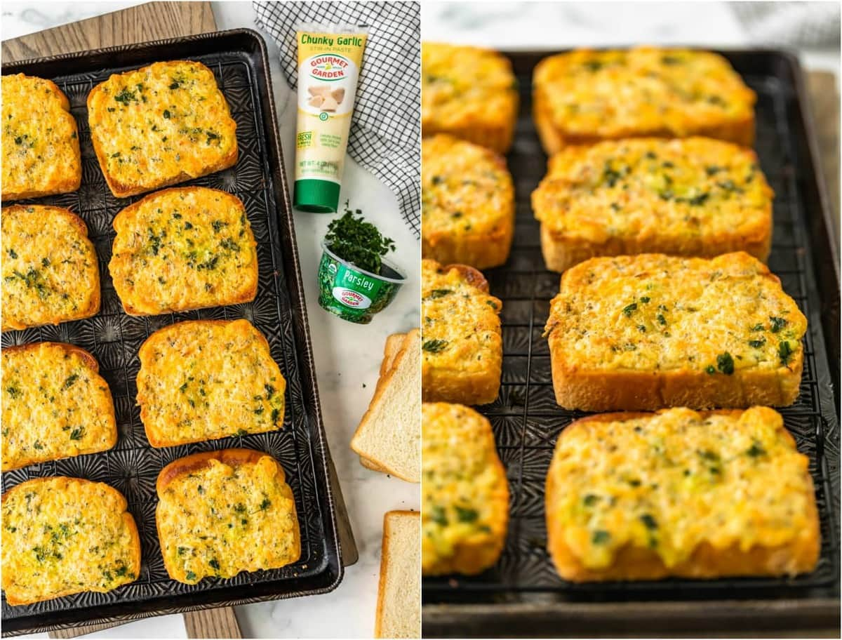 how to make garlic cheese bread