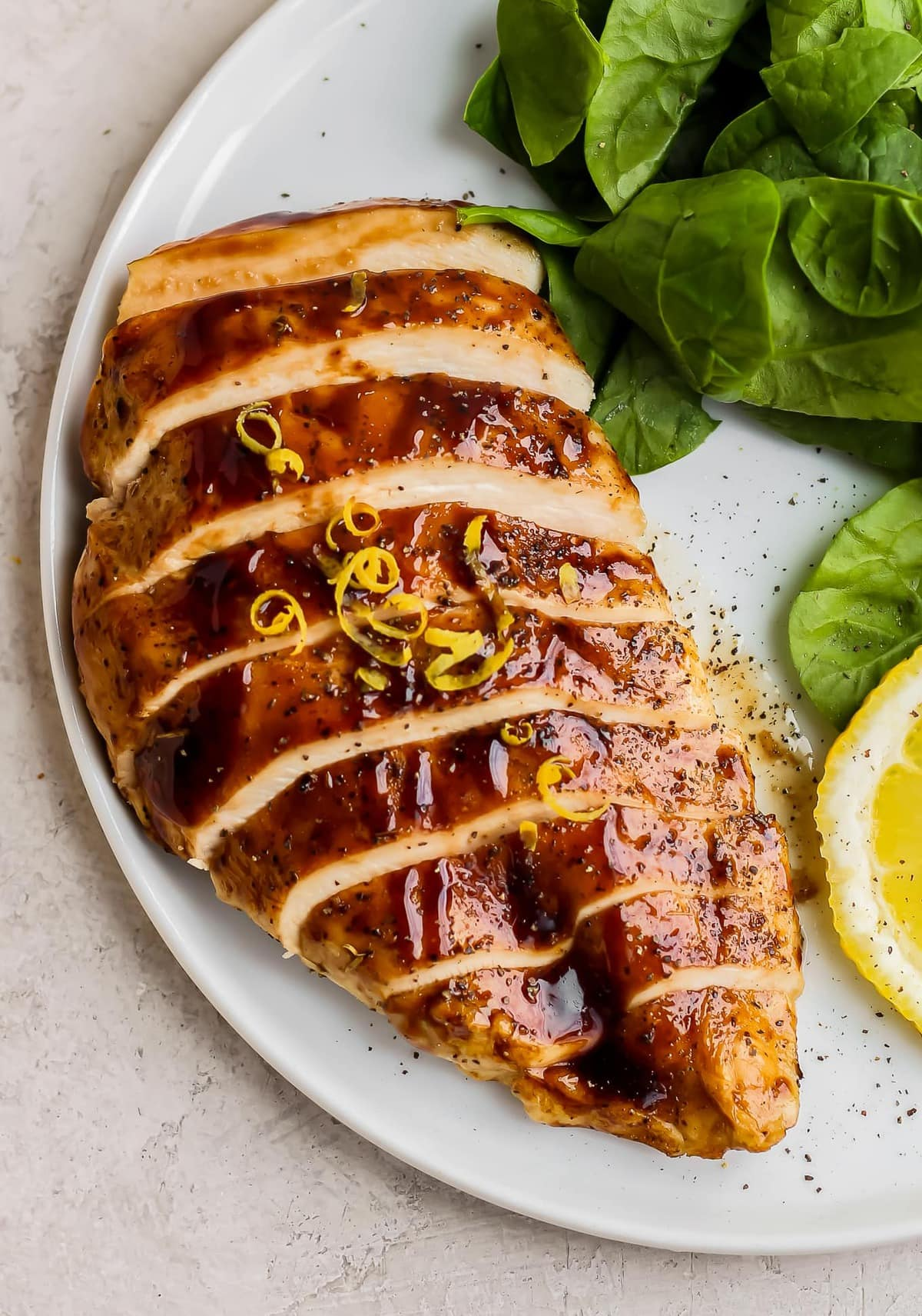 Lemon Honey Balsamic Chicken Recipe The Cookie Rookie