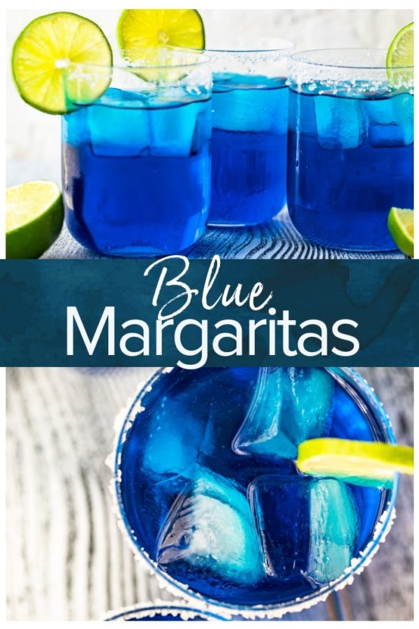 Blue Margaritas- Pinterest collage