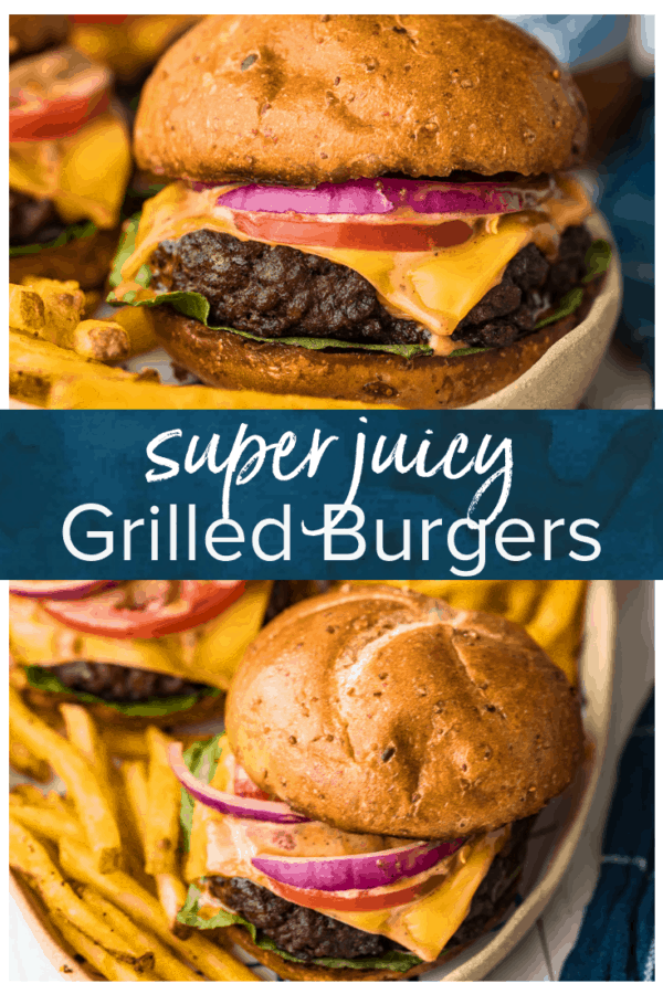 grilled burgers pinterest photo