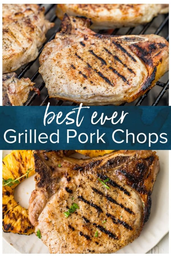 grilled pork chops pinterest pic