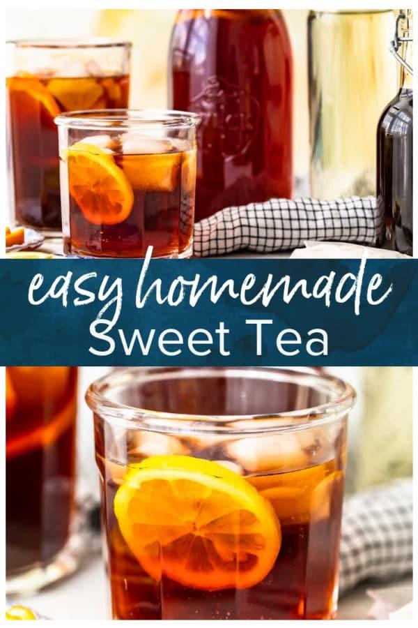 homemade sweet tea pinterest photo