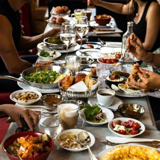 israel trip food
