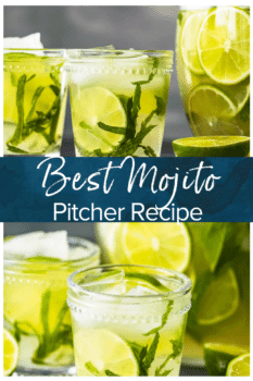 Best Mojito Pitcher- Pinterest collage