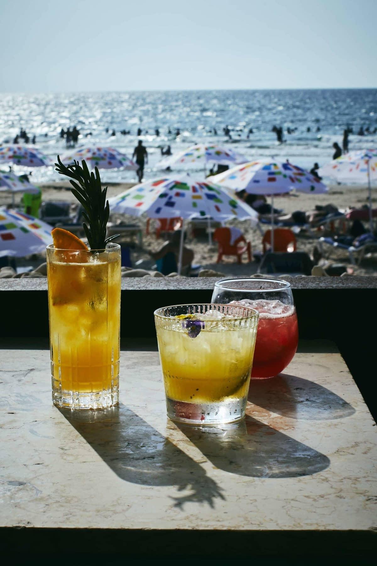 beaches of Tel Aviv Israel