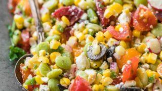 Peruvian Chopped Salad Recipe
