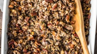 Wild Rice Sausage Stuffing Recipe