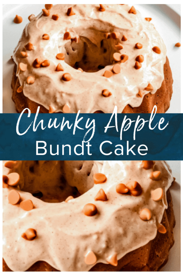 apple bundt cake pinterest image