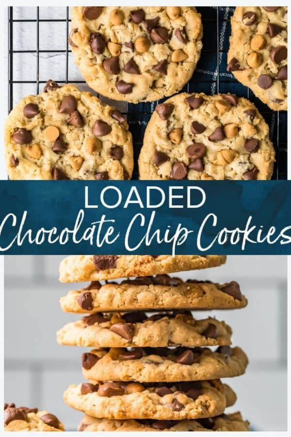 loaded chocolate chip cookies pinterest photo