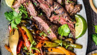 Best Steak Fajitas Recipe (Grilled Fajitas)
