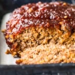 bacon meatloaf with sauce