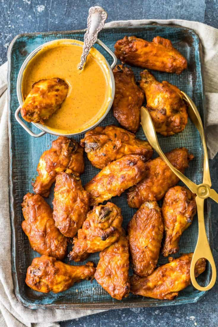 Chicken Tikka Masala Baked Wings Recipe