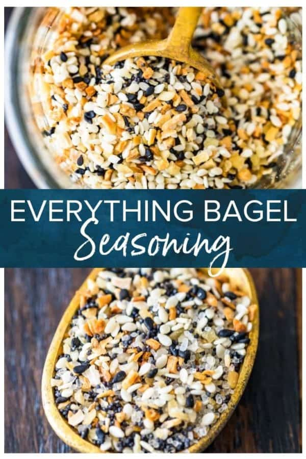 everything bagel seasoning pinterest photo