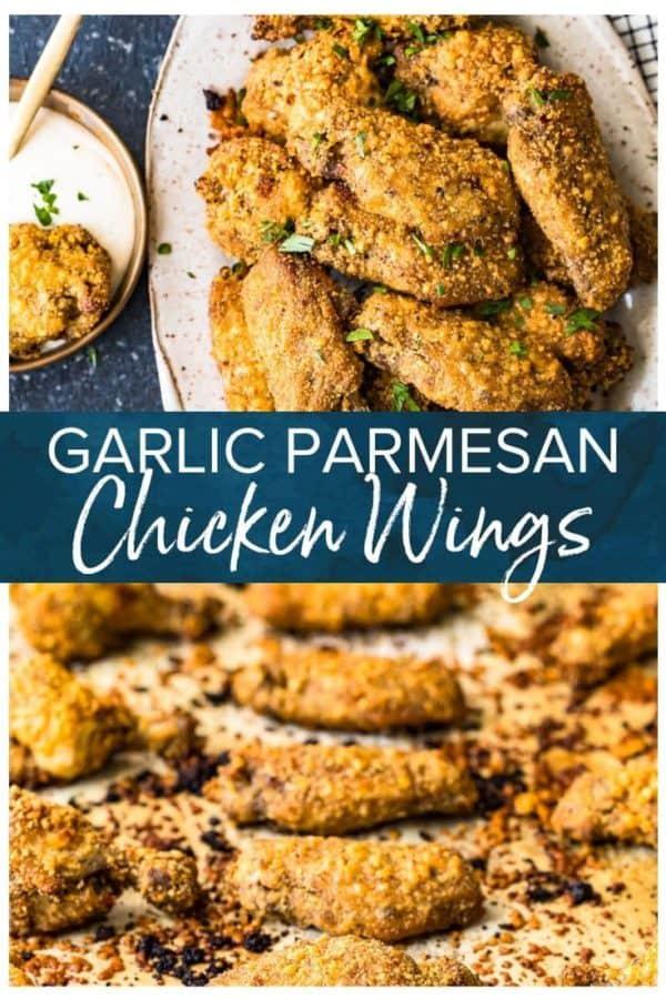 garlic parmesan chicken wings pinterest pic