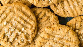 Mom's Peanut Butter Cookies Recipe