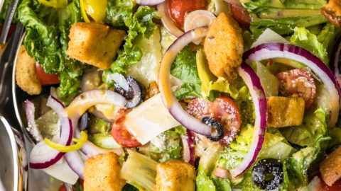 Olive Garden Salad With Copycat Dressing