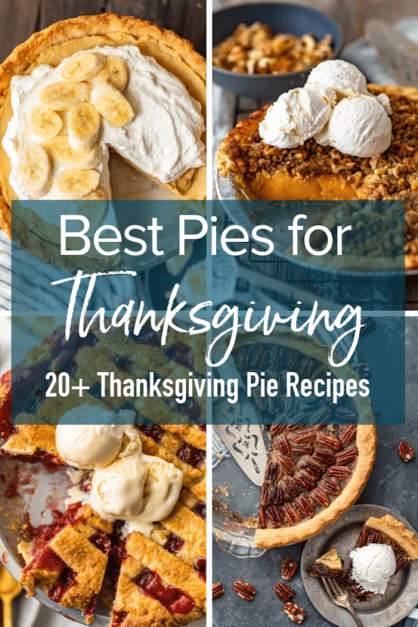thanksgiving pies pinterest collage