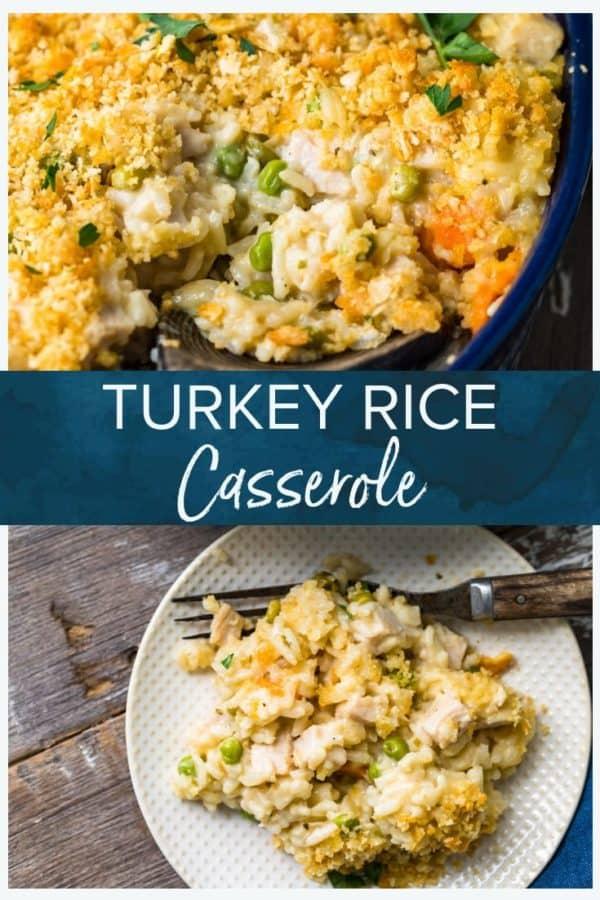 turkey rice casserole pinterest photo