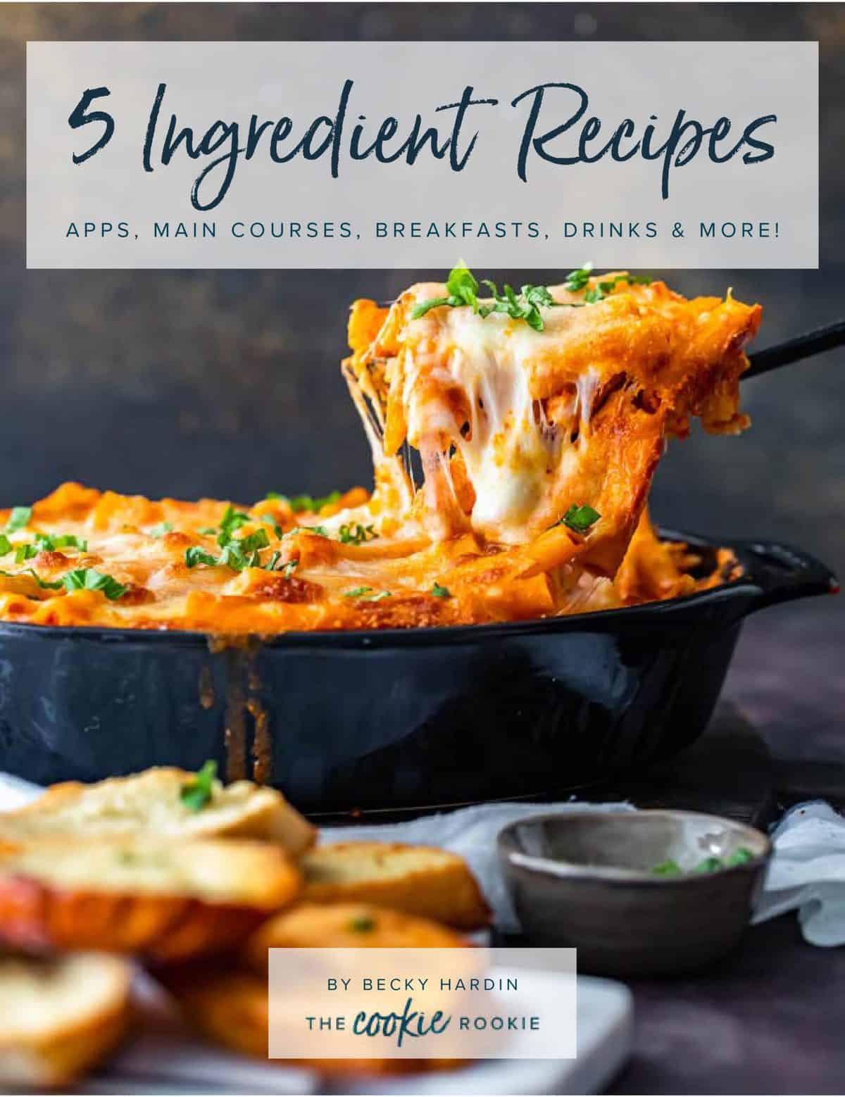 5 ingredient recipes ebook cover