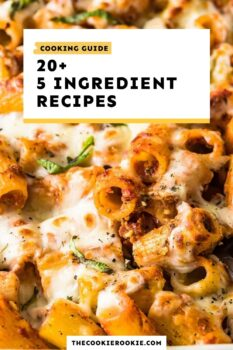 5 ingredient recipes guide