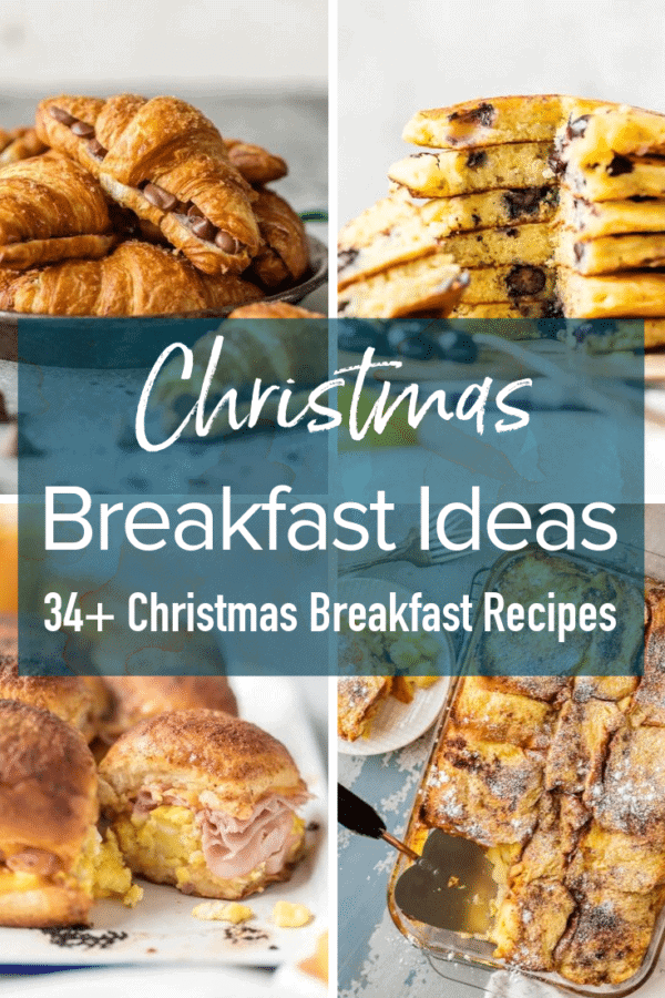christmas breakfast pinterest image