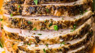 EASY Crockpot Turkey Breast Recipe (Slow Cooker Turkey)