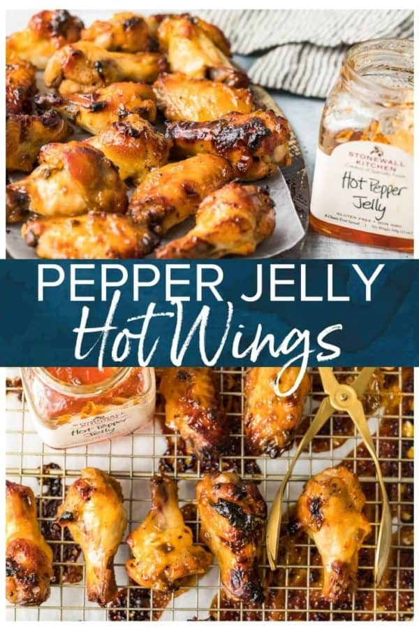 pepper jelly hot wings pinterest photo