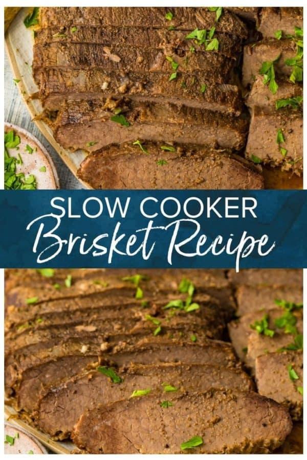 slow cooker brisket pinterest photo