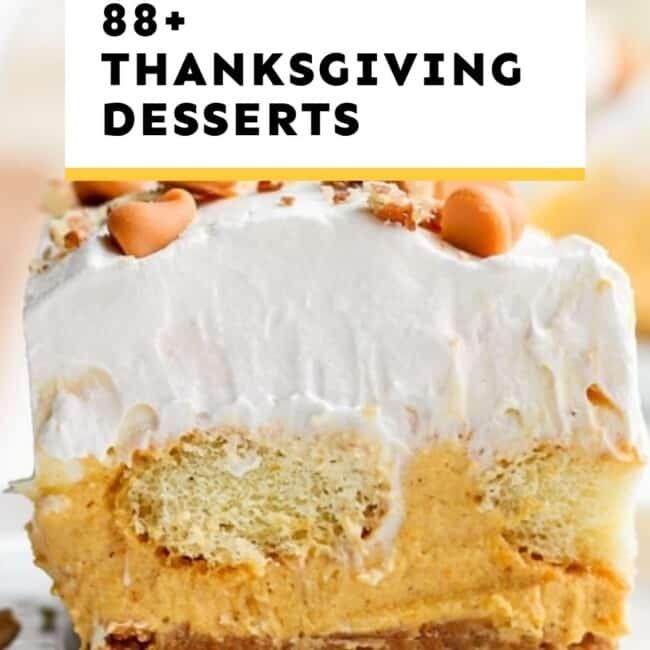 thanksgiving desserts guide