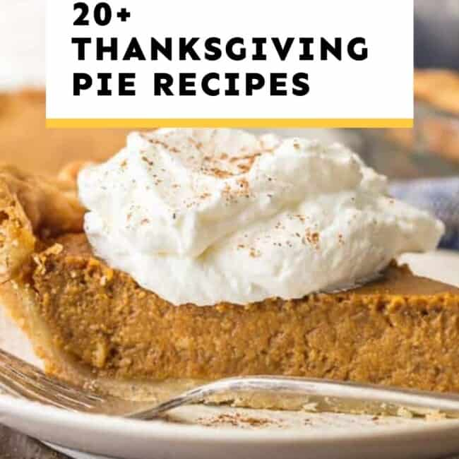 thanksgiving pies guide