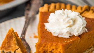 Vegan Pumpkin Pie Recipe (Dairy Free!)