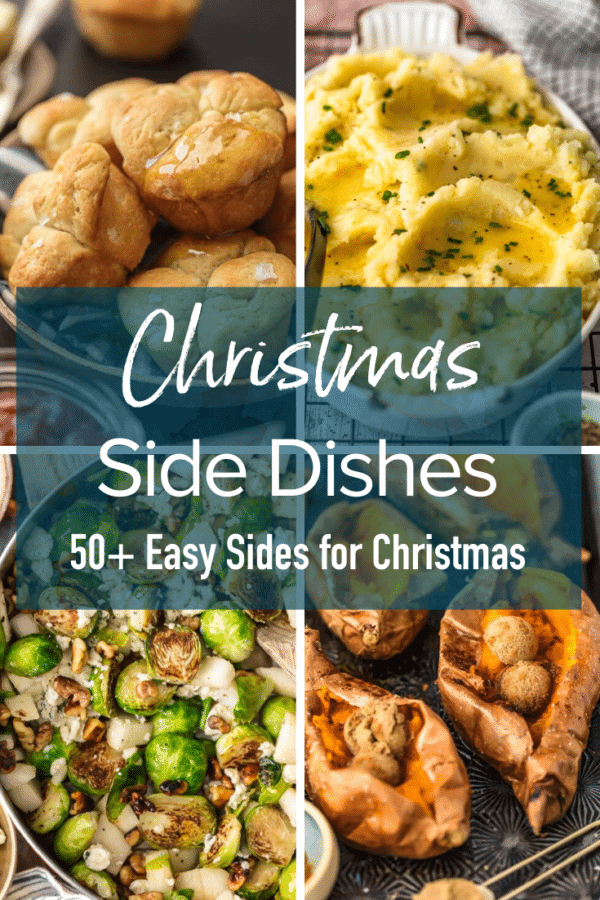 text: Christmas side dishes