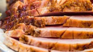 Marmalade Glazed Ham Recipe - Holiday Ham