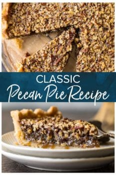 pecan pie pinterest image