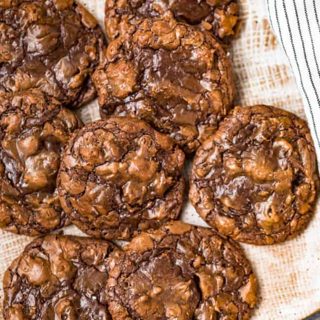 chocolate fudgy brownie cookies
