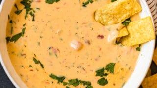 Crock Pot Queso Cheese Dip Recipe