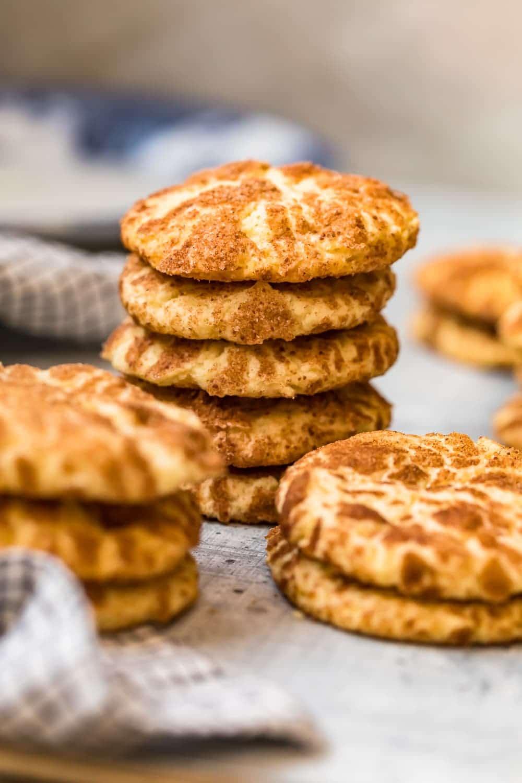 Cookies with a cinnamon sugar coating