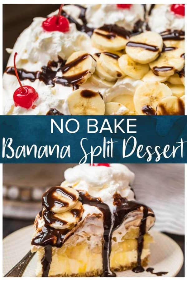 no bake banana split pinterest photo