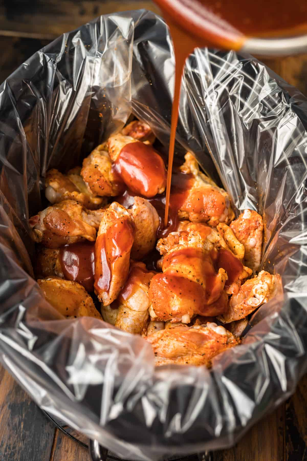 Slow Cooker Honey Bbq Chicken Wings The Cookie Rookie Video