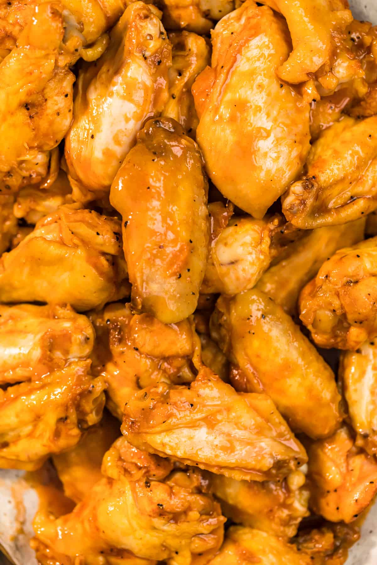 close up of chicken wings