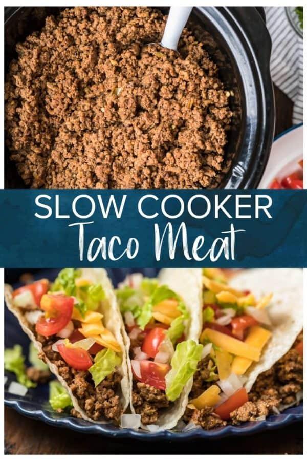 taco meat pinterest image