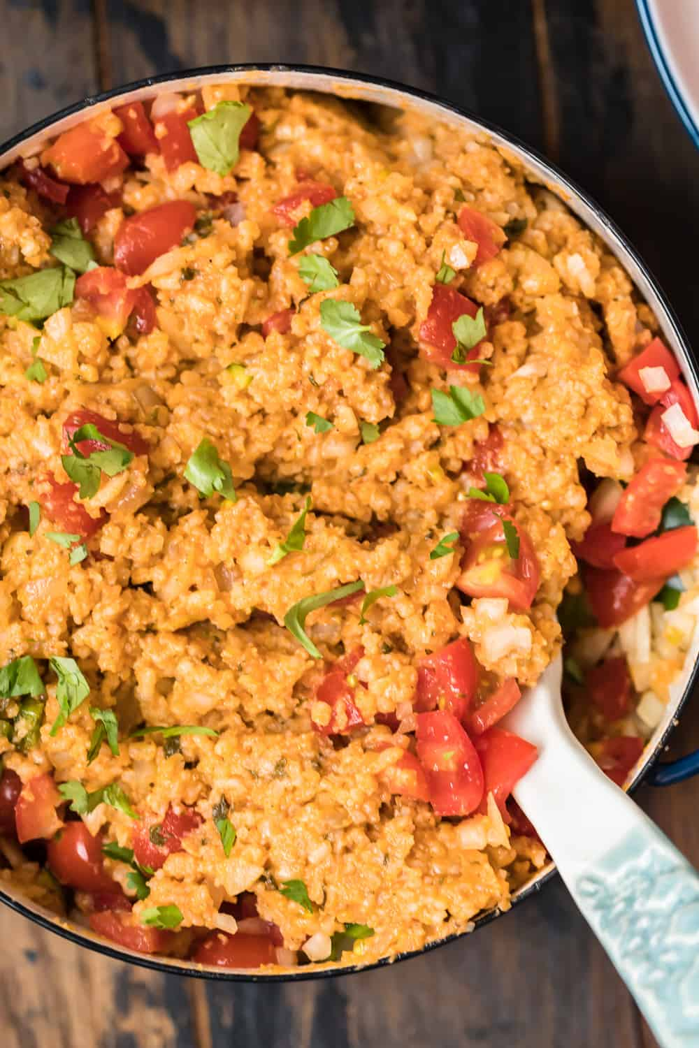 easy mexican rice recipe in skillet