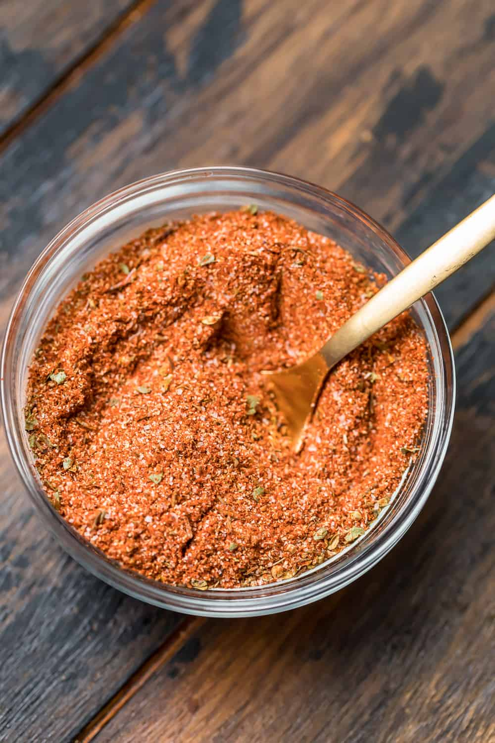 blackened spice recipe in a pot