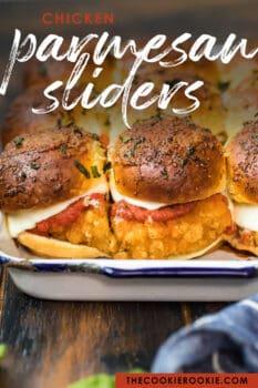 chicken parmesan sliders pinterest image